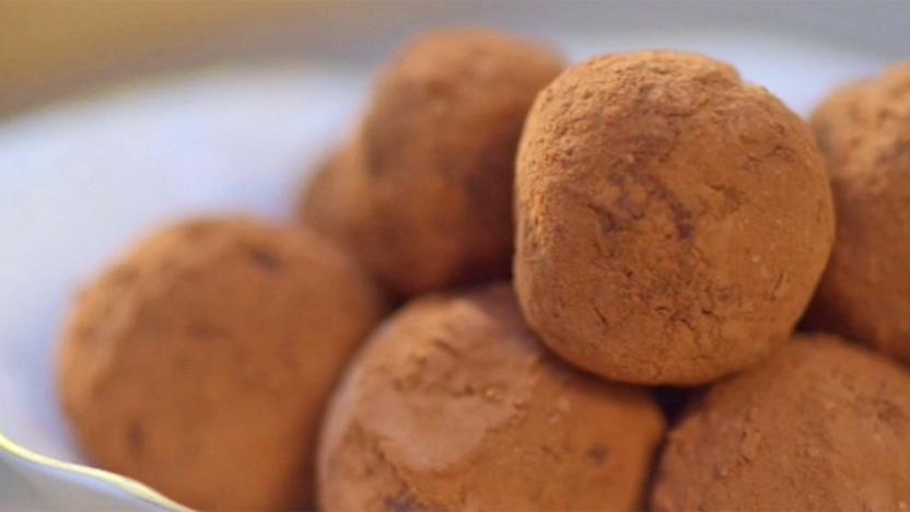 Gin and Lime Truffles