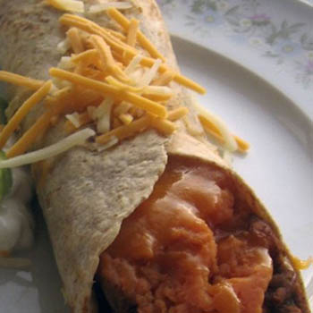 Addictive Sweet Potato Burritos - All Recipes